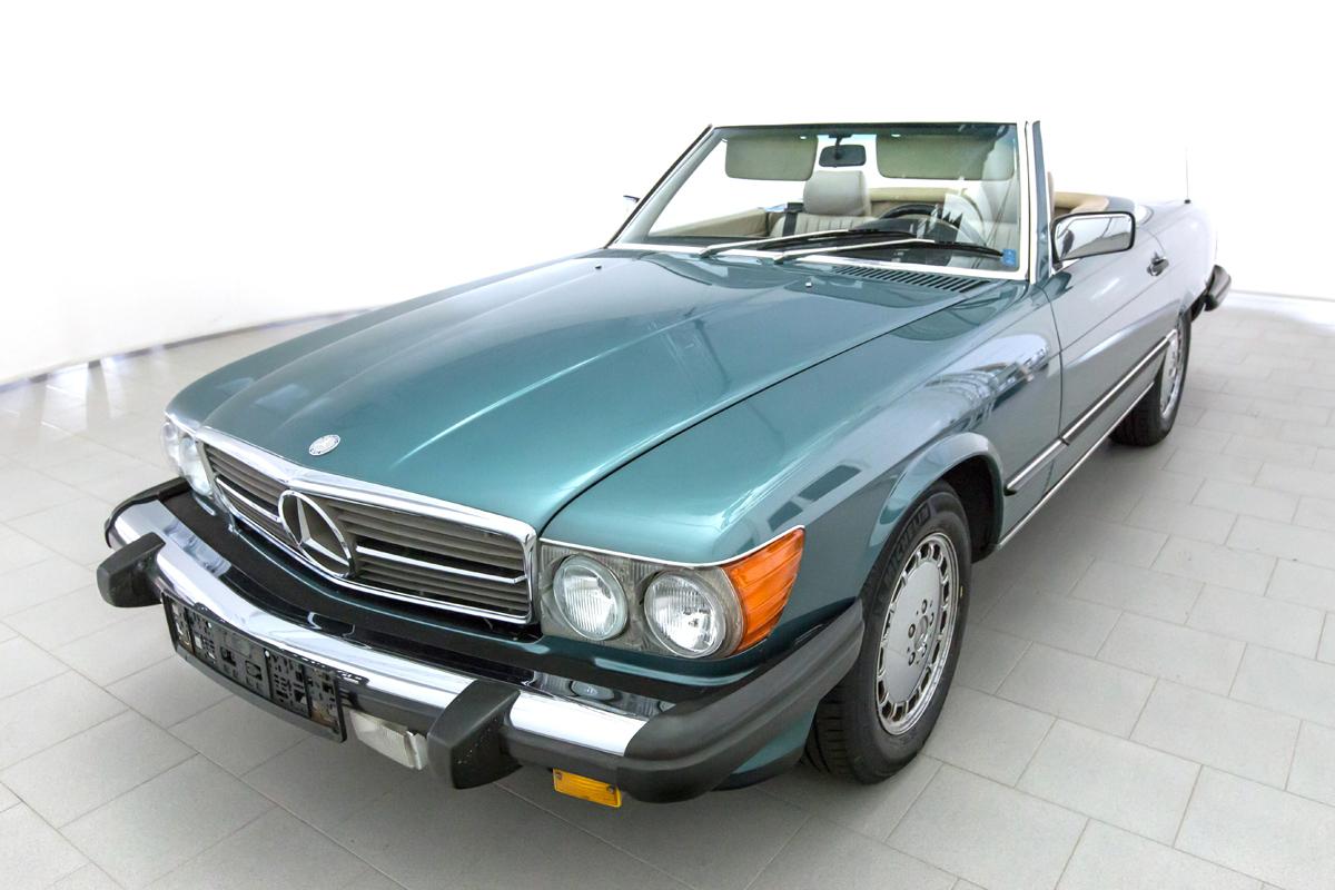 Mercedes benz 560 sl classicbid for Mercedes benz 560sl