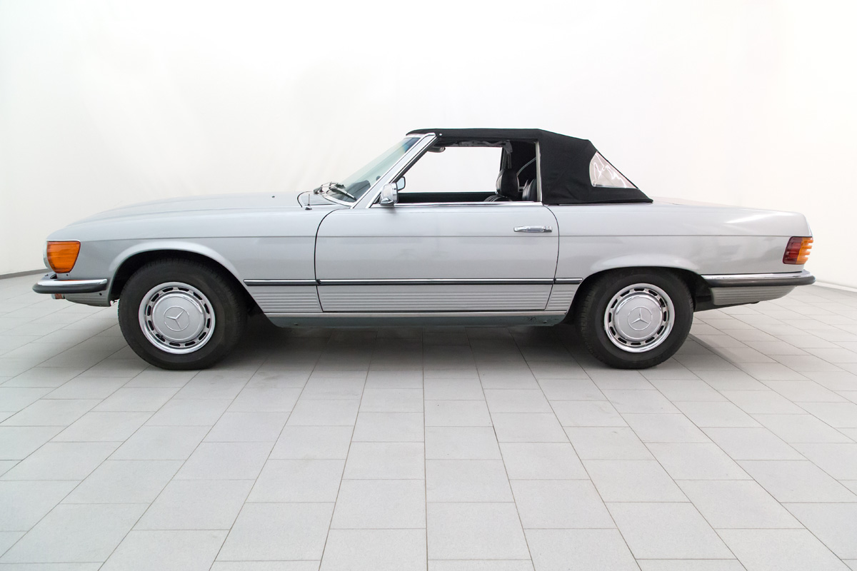 Mercedes benz 350 sl convertible classicbid for Mercedes benz 350 convertible