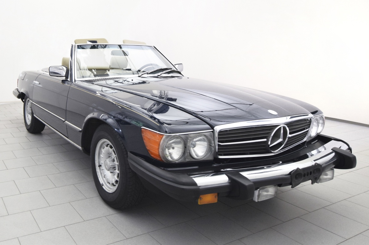mercedes benz 380 sl classicbid. Black Bedroom Furniture Sets. Home Design Ideas