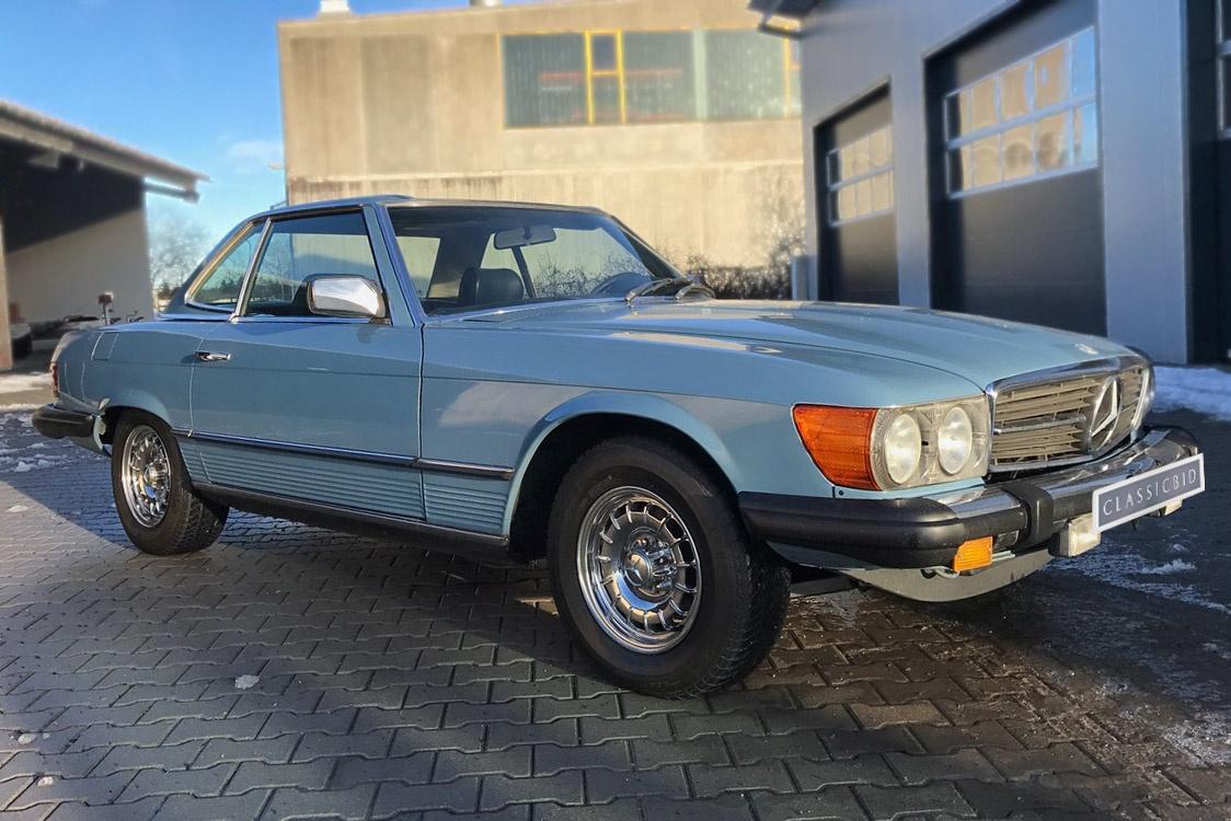 Mercedes benz 450 sl classicbid for Mercedes benz 450 sl