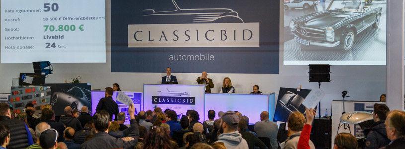 Klassiker-Auktion etabliert sich auf den RETRO CLASSICS®