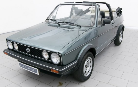 Volkswagen Golf I GLI Convertible