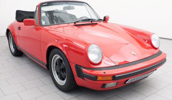 Porsche 911 Carrera 3.2 Convertible